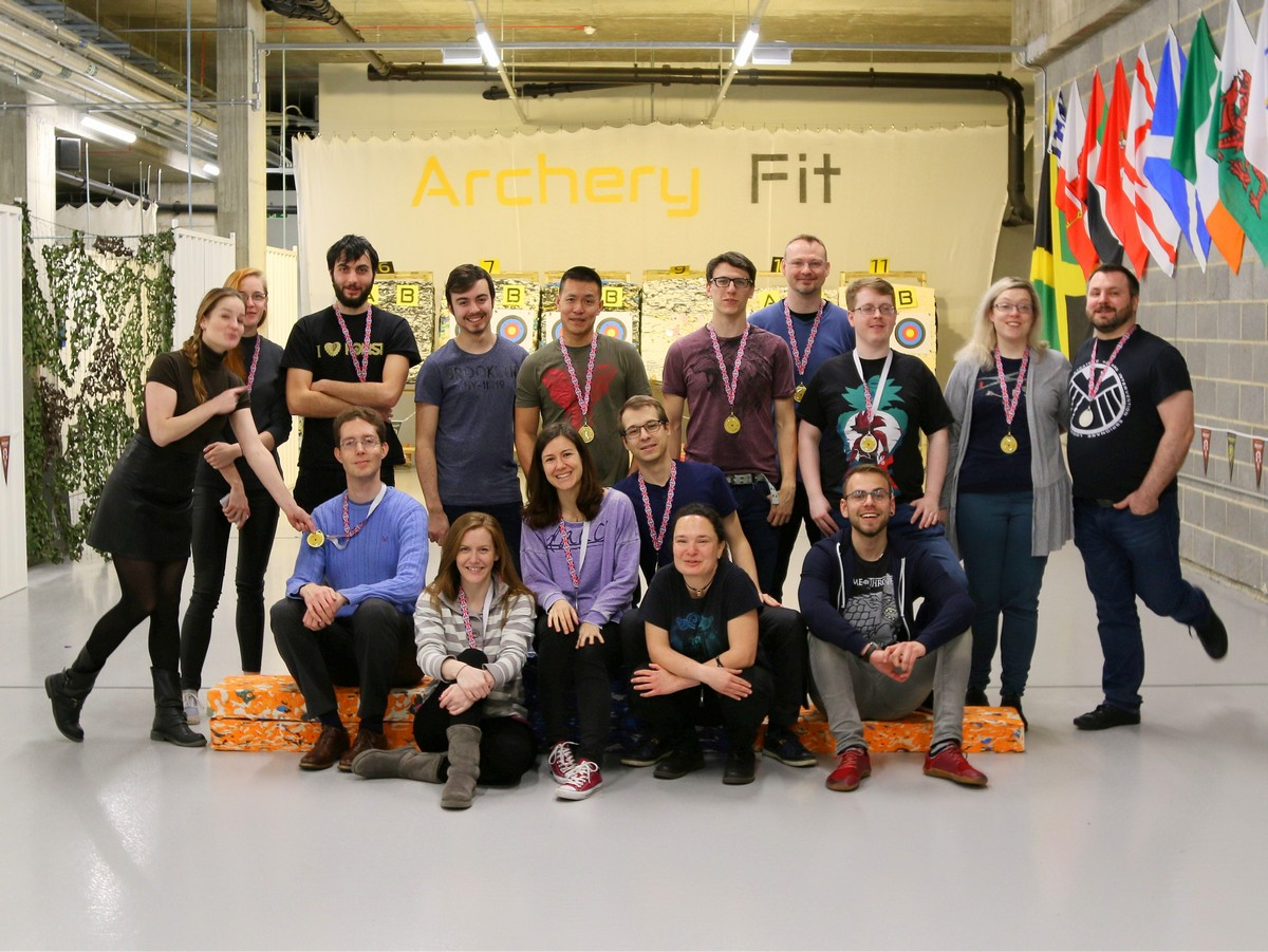 Archery Fit: Freshers 2018 Part 1