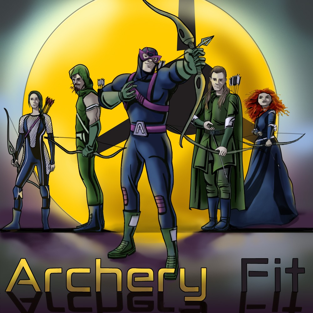 Archery and Comics make a perfect combo :)