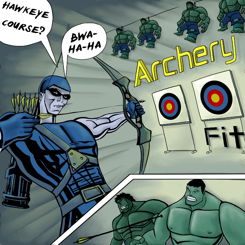 Archery Fit: Hawkeye Course