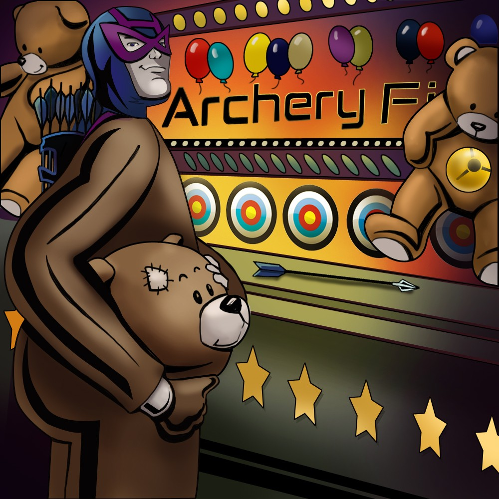 Archery saves Teddy Bears!