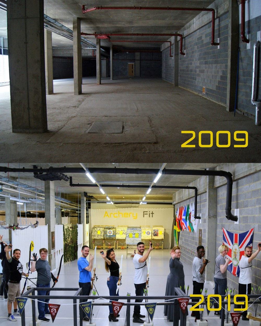 Archery Fit #10YearsChallenge :)