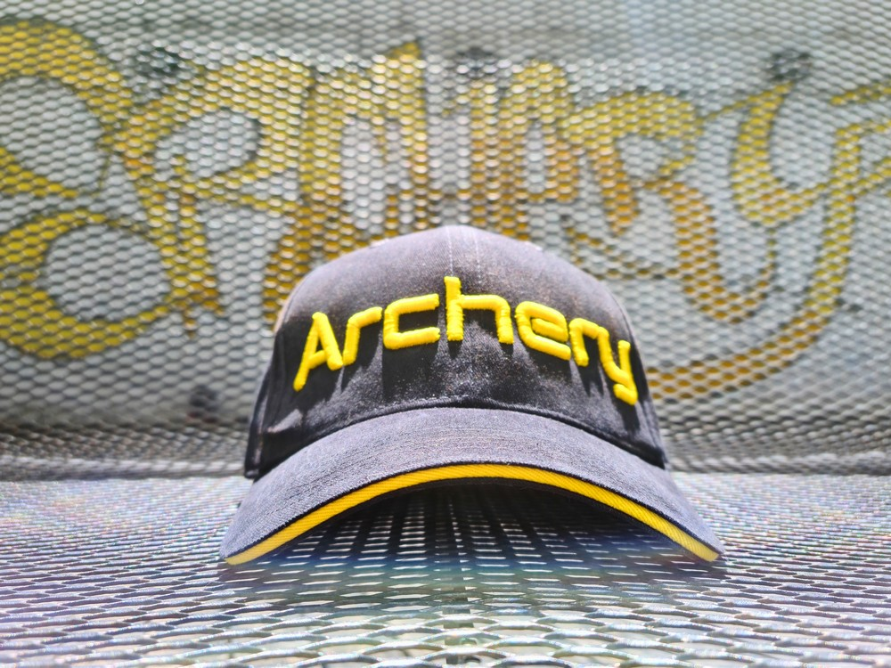 Archery Fit: best archery caps in the world, black edition!