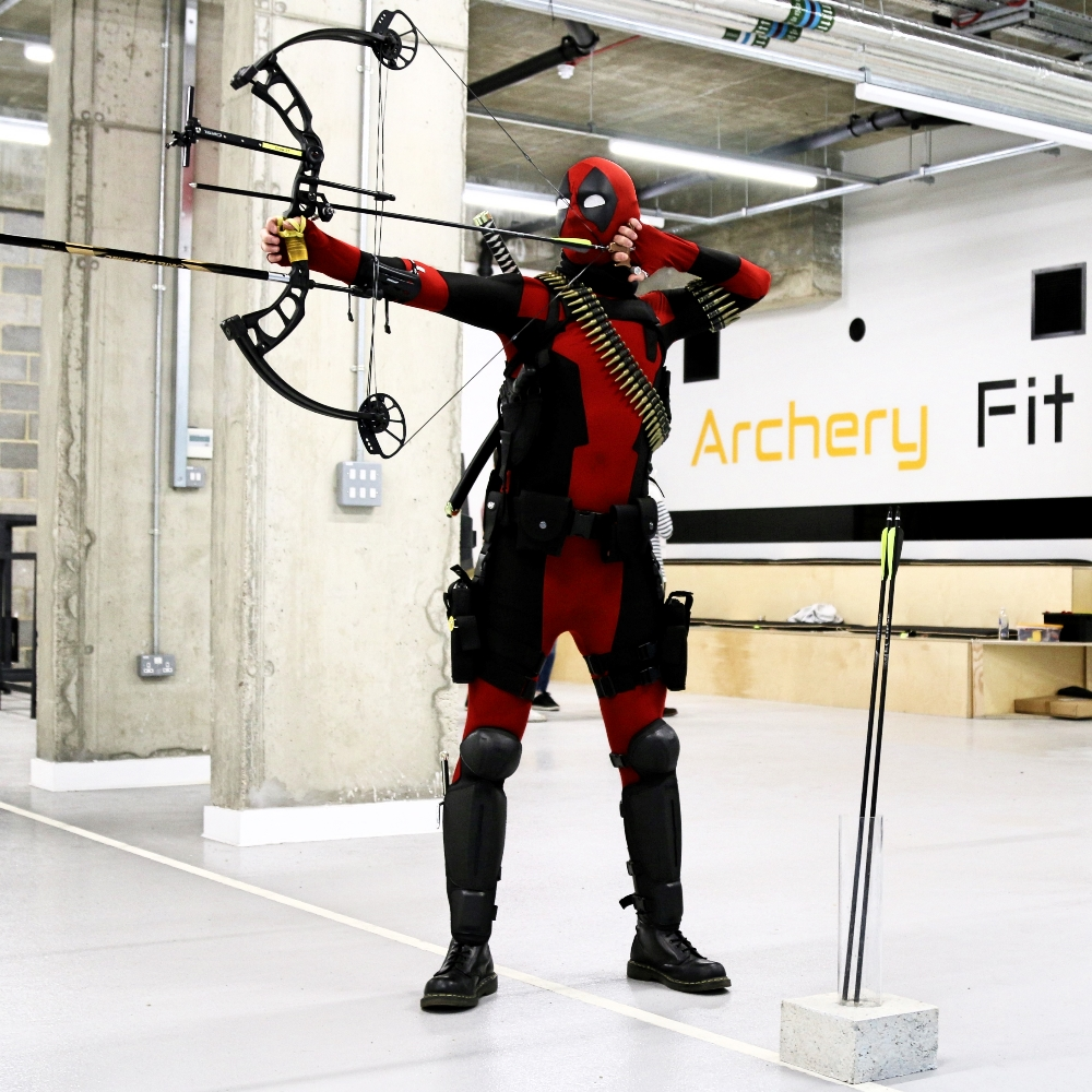 Archery Fit: Deadpool shooting!