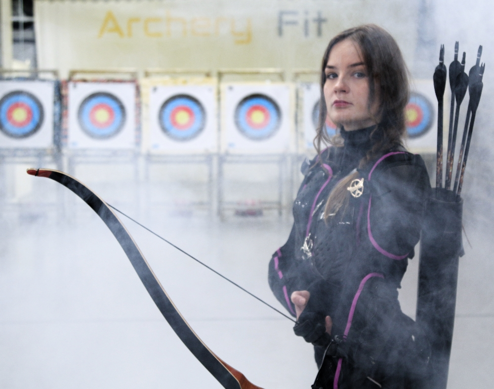 Archery Fit: our Katniss :)