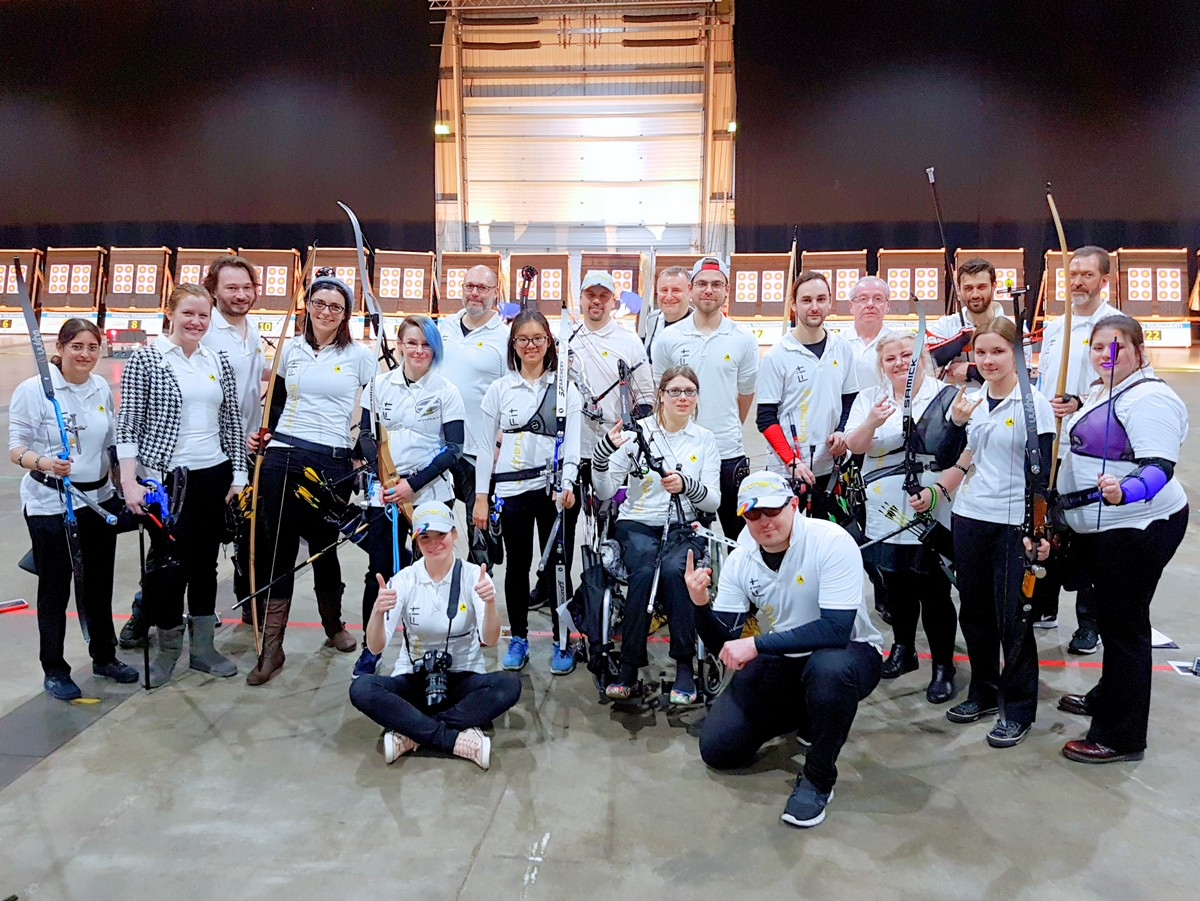Archery Fit Knights at NIC 2017 :)