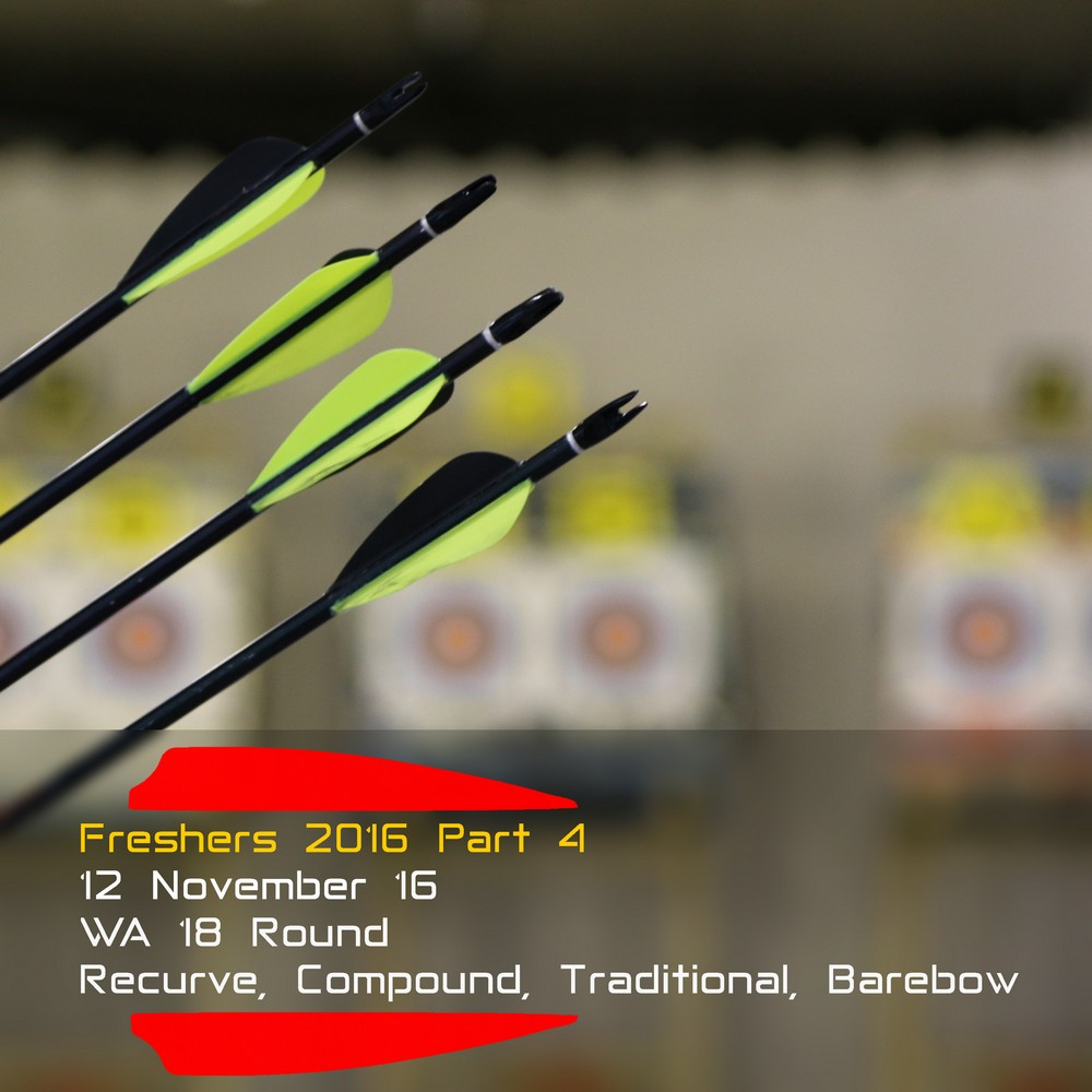 Archery Fit: Freshers 2016 Part 4
