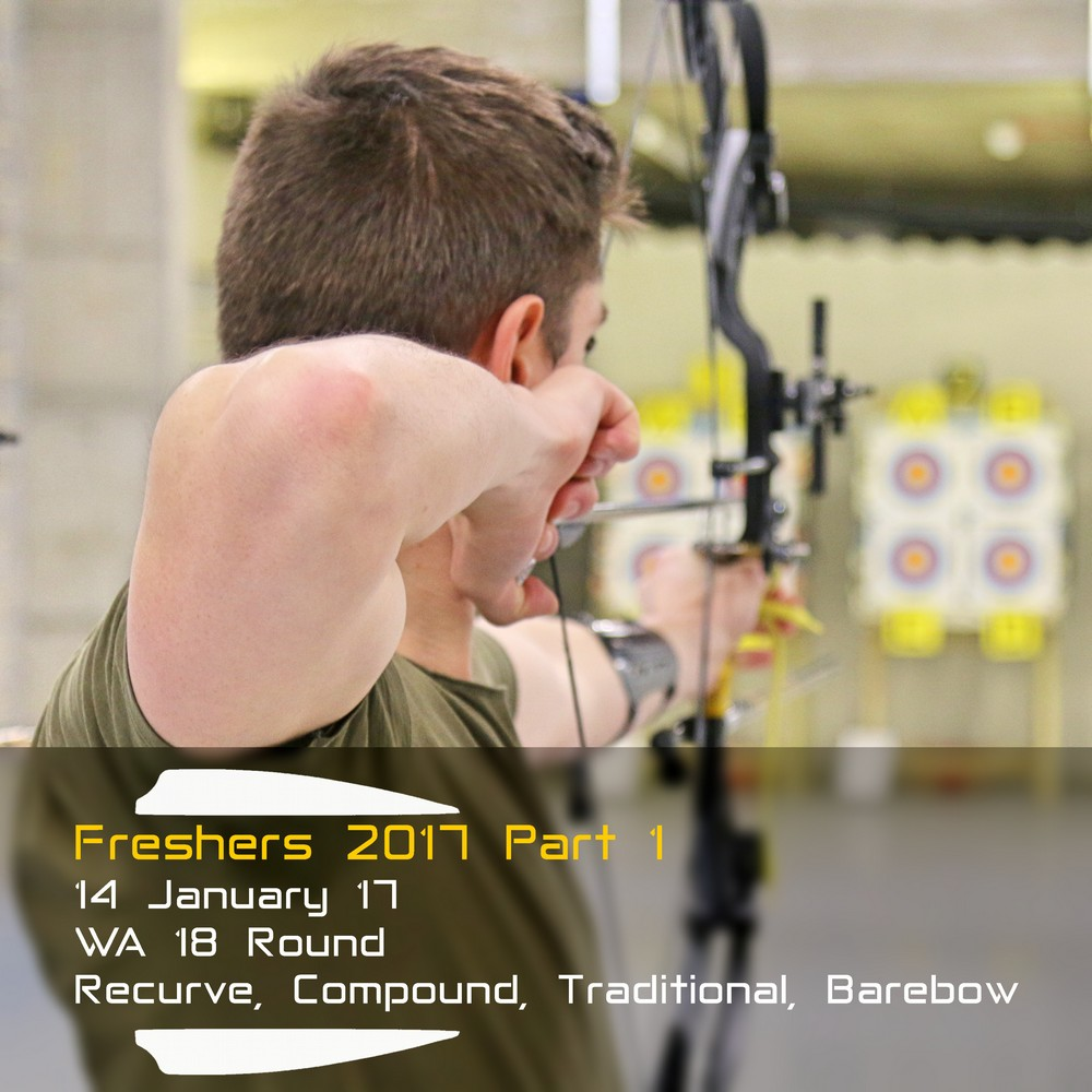 Archery Fit: Freshers 2017 Part 1