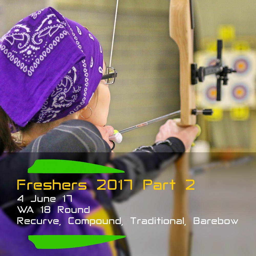 Archery Fit: Freshers 2017 Part 2