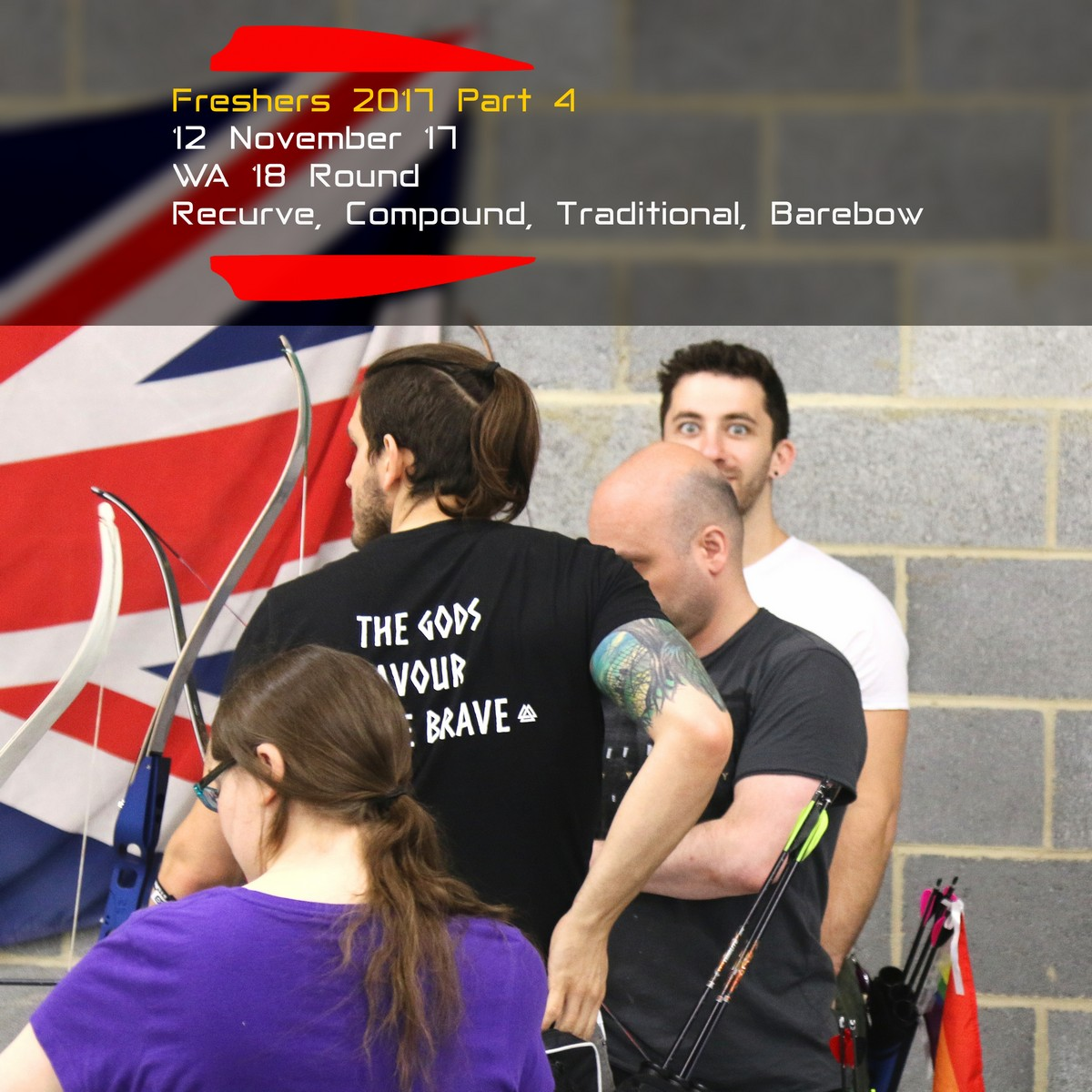 Archery Fit: Freshers 2017 Part 4