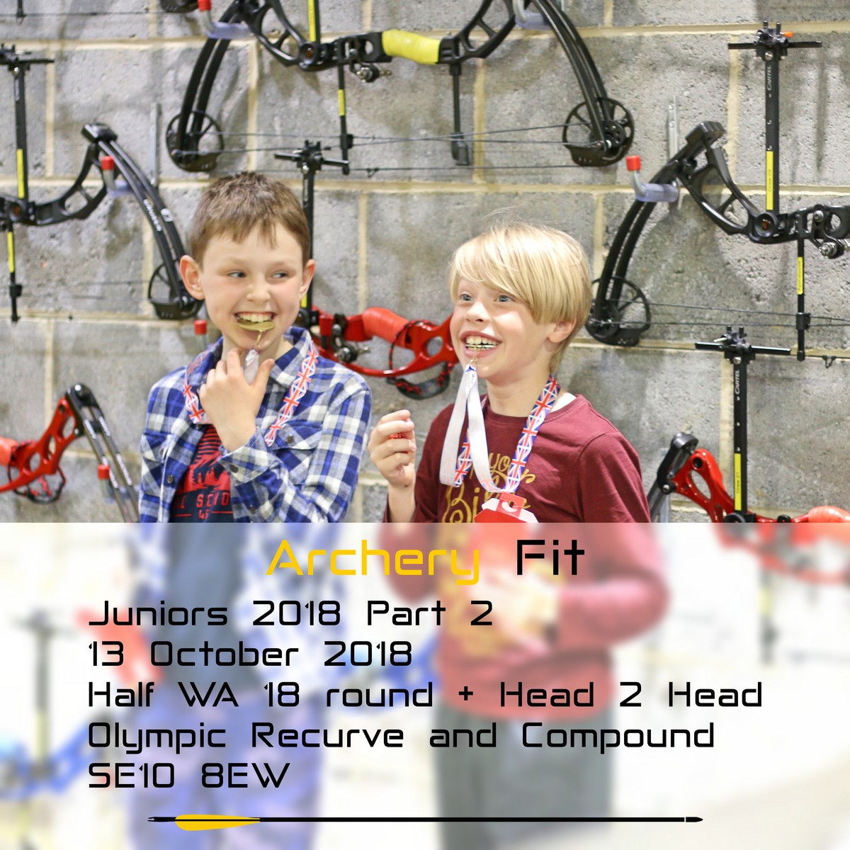 Archery Fit: Juniors 2018 Part 2