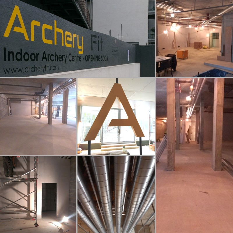 Archery Fit: fit out works